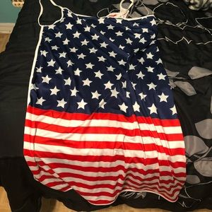 Other - 3/$15 American Flag Cover Up